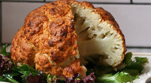 Whole Roast Cauliflower