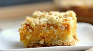 Pumpkin Streusel Slice
