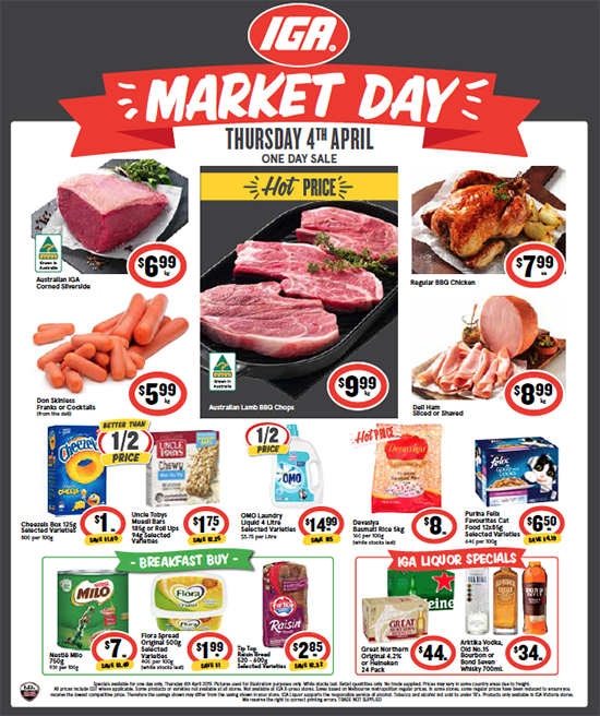 GIGANTIC Easter Savings + Tomorrow is Market Day!