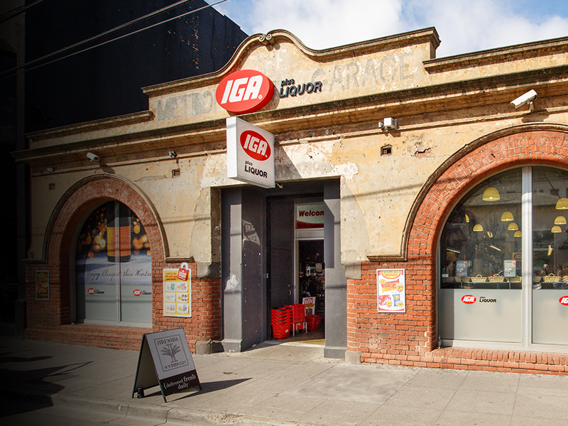 Storefront of IGA Toorak Road