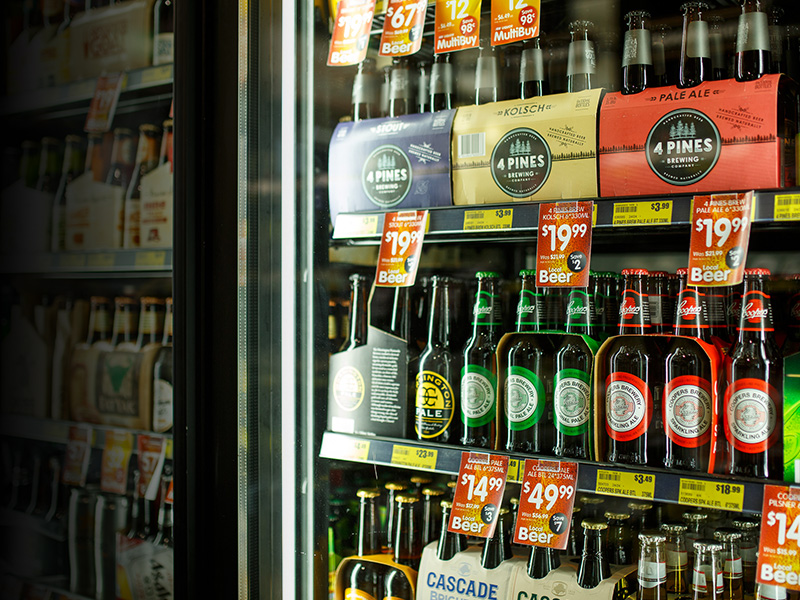 Craft Beer Range at Toorak Road IGA