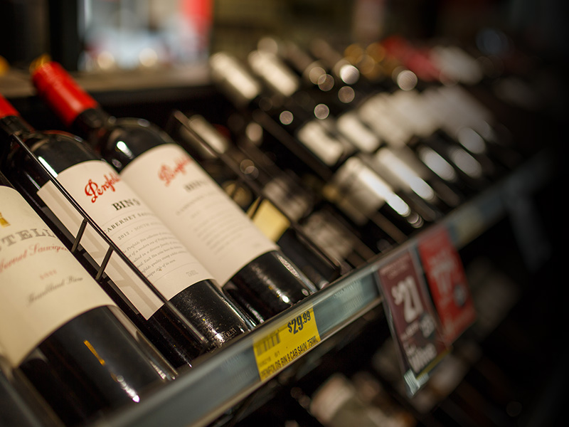 Boutique Red Wine at Toorak Road IGA