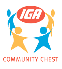 IGA Community Chest Logo