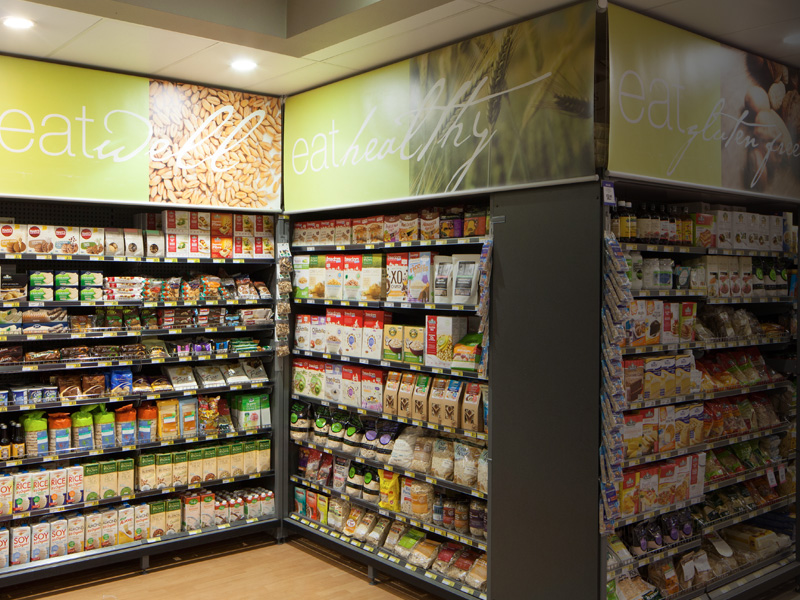 Health & Gluten Free Foods Department at Supa IGA Pyrmont