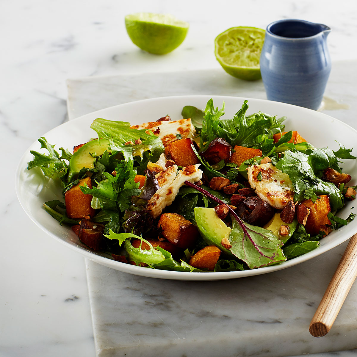 TAMARI ROAST PUMPKIN SALAD