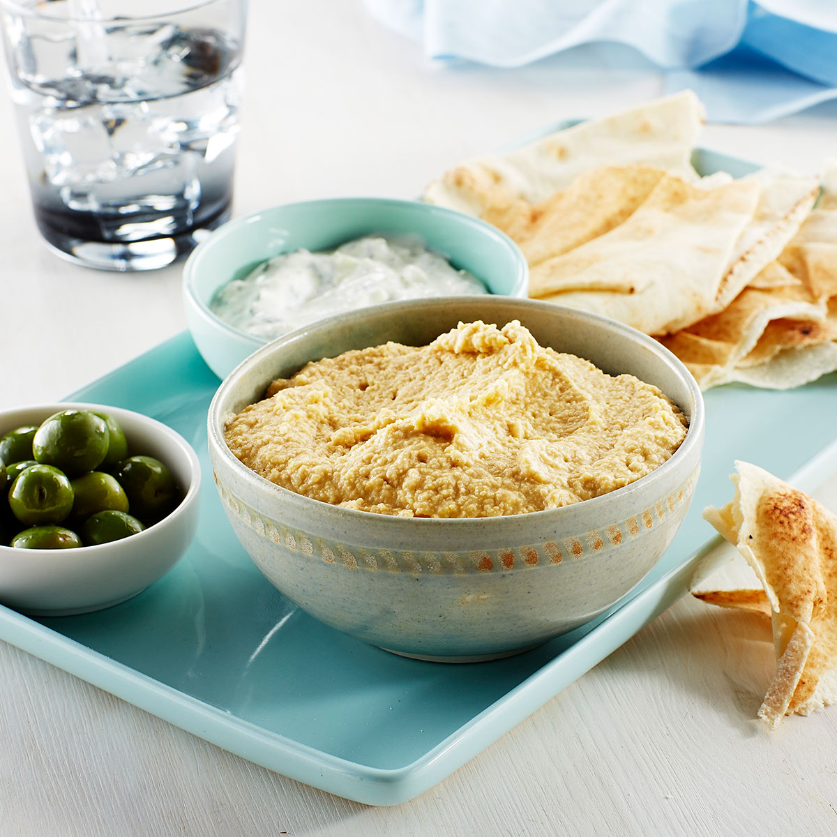 Homemade Hummus made Easy