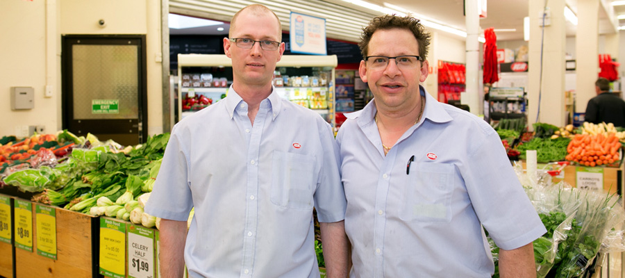 Staff members at IGA Turramurra