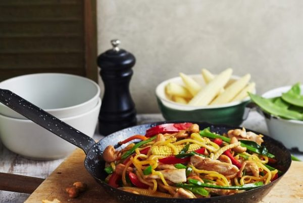 Easy Chicken & Vegetable Stir-Fry - thanks to MAGGI!